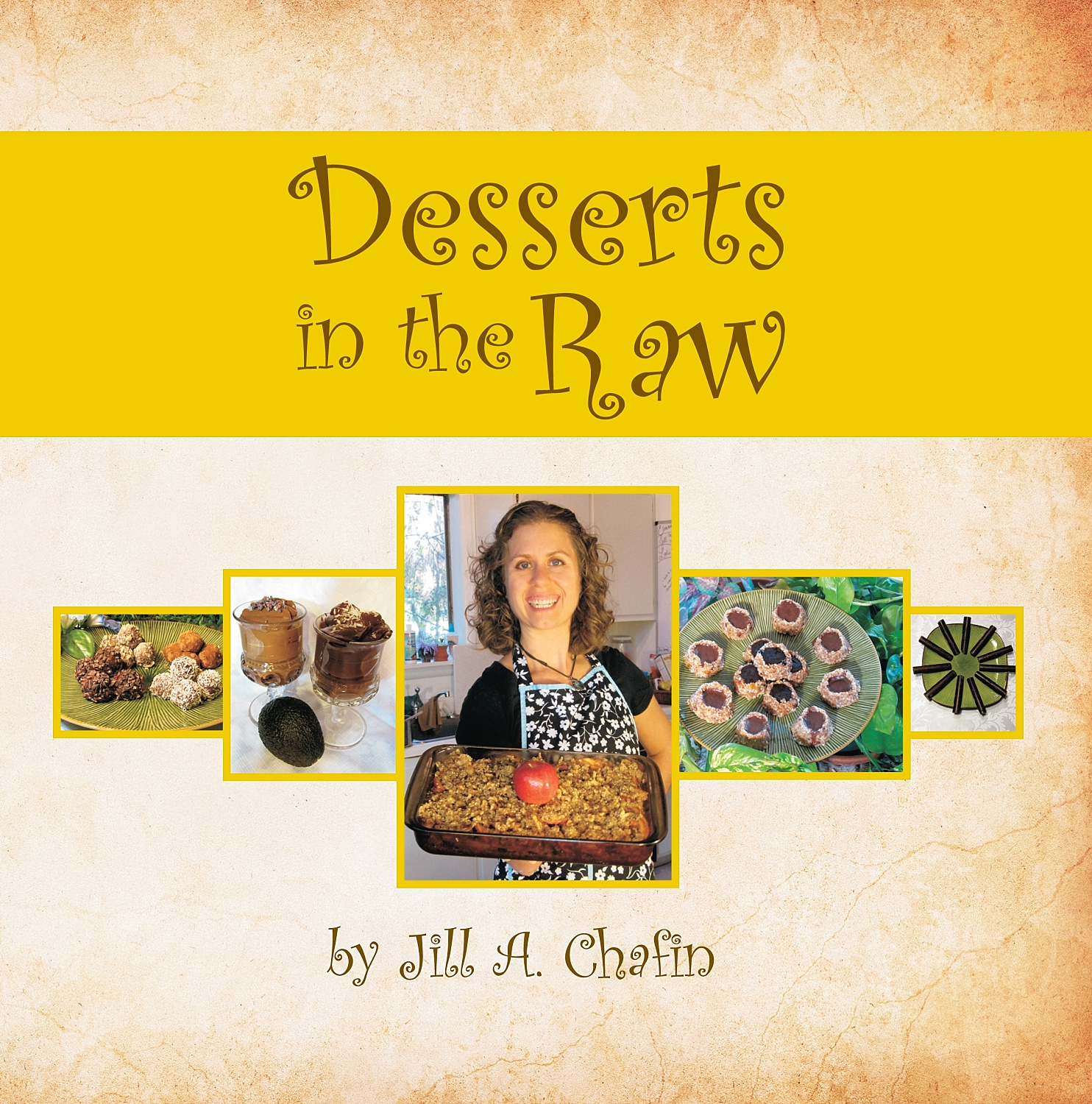 Updated book cover for Desserts in the Raw